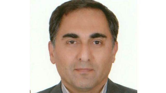 زمانی که آقای عسگری در سال ۲۰۱۷ میلادی در سلولی در بازداشتگاه