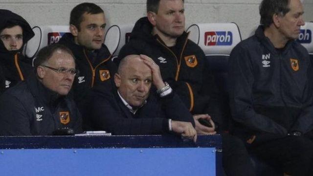 A ranar Litinin Phelan ya jagoranci Hull City a wasan da West Brom ta doke ta 1-0