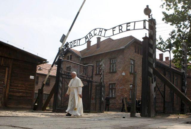 Папа в Освенциме