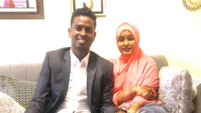 Afkab and his wife