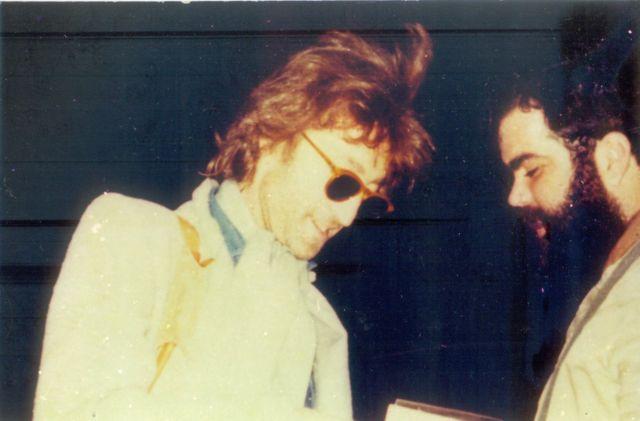 John Lennon e Marco Antônio Mallagoli se encontraram no aniversário de 40 anos de John Lennon