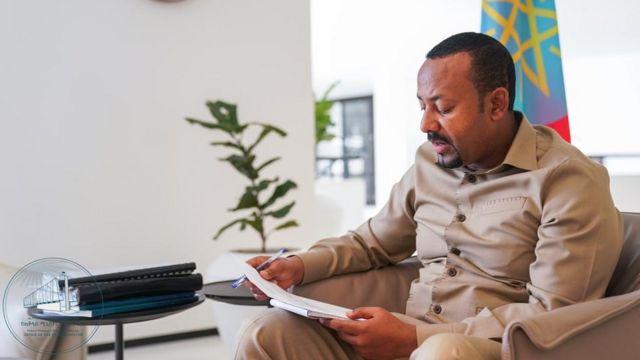 Ra'isal wasaaraha Itoobiya Dr Abiy Axmed