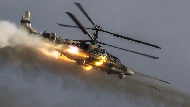 Russian Ka-52 helicopter gunship, 21 Aug 18