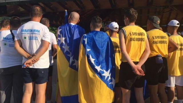 Ultramaratonci u Potočarima, Srebrenica, 2018.