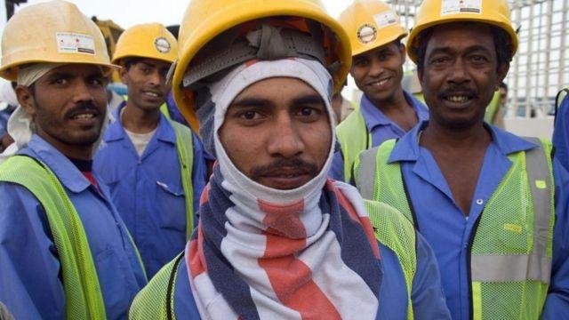 దుబాయ్లో భారత కార్మికులు