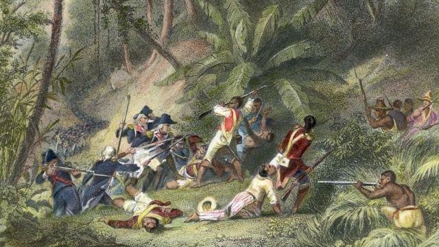Obra mostra levante ocorrido no Haiti no século 18