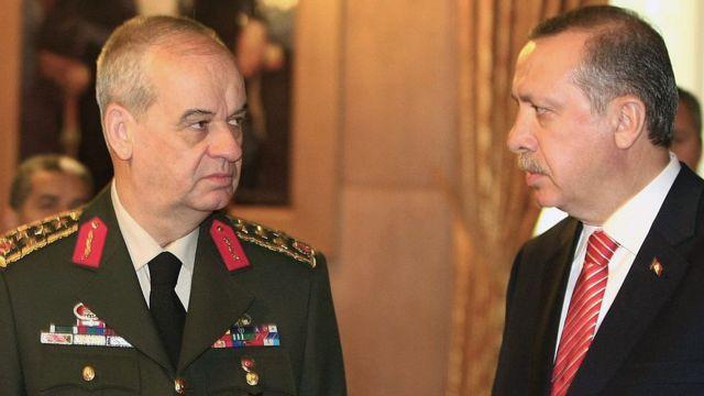 İlker Başbuğ ve Recep Tayyip Erdoğan