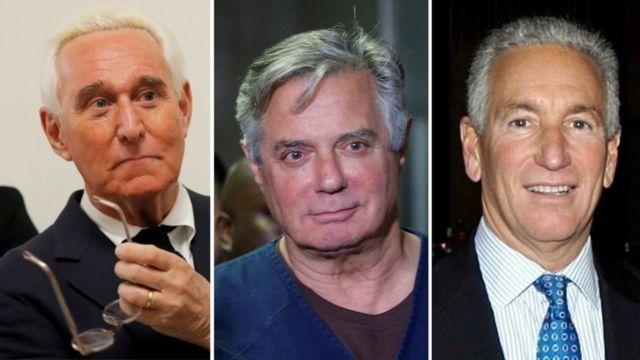 چارلز کوشنر، پال مانافورت و راجر استون