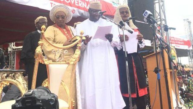 Kayode Fayemi ipinlẹ Ekiti.