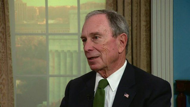 "Bloomberg: ""Social change is led from the bottom up, not the top down"""