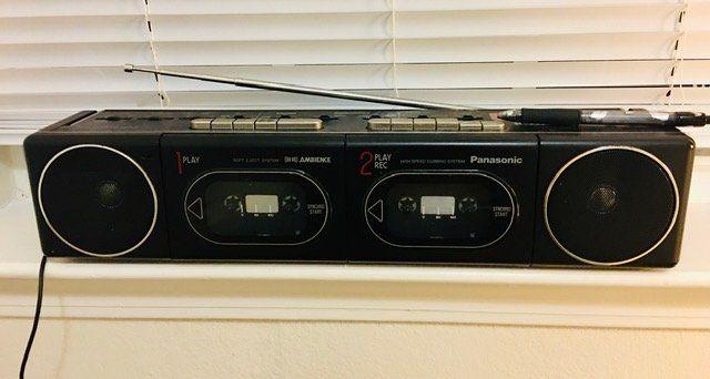 Konrad's Panasonic Radio