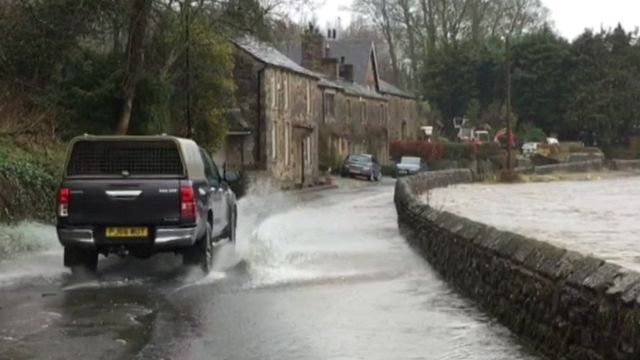 Northern rail services hit by flooding