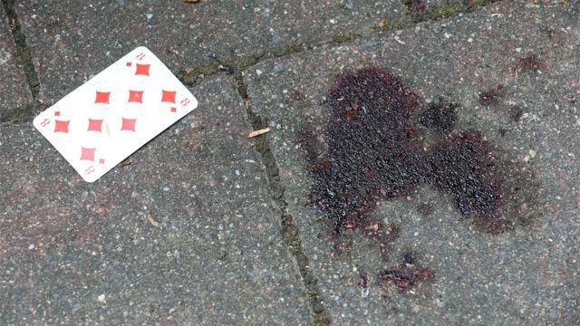 пятна крови в Ансбахе