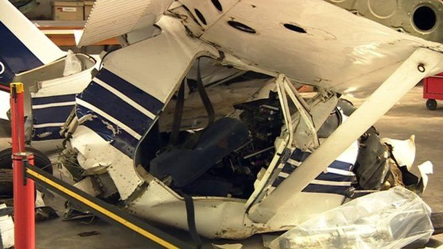 A look inside the Air Accident...
