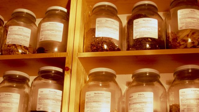 Remedios de medicina tradicional china.