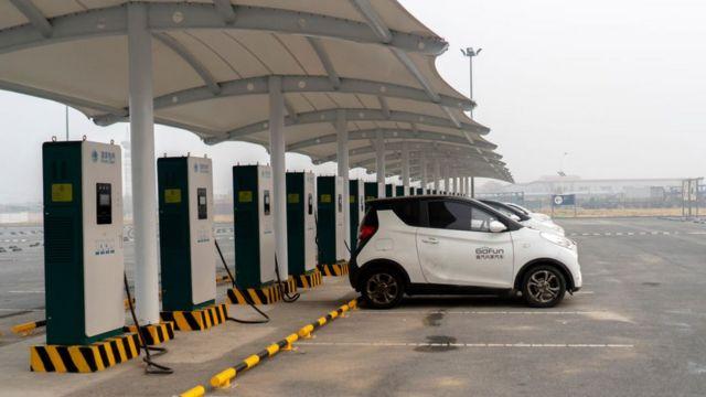 Станция зарядки электромобилей