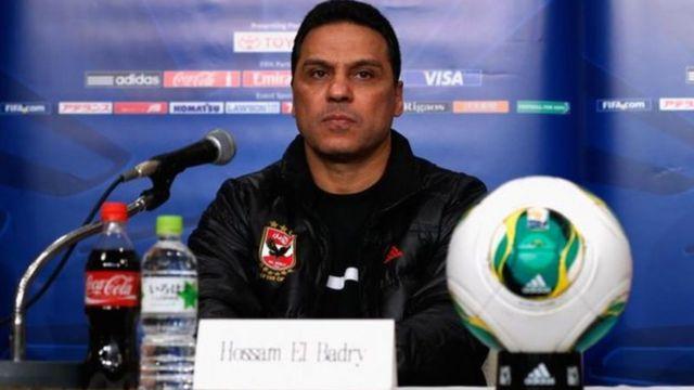 Hossam El Badry, l'entraîneur de l'équipe égyptienne d'Al Ahly a été sanctionné par la CAF.
