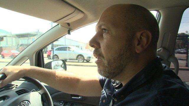 Det Con Colin Ward in car