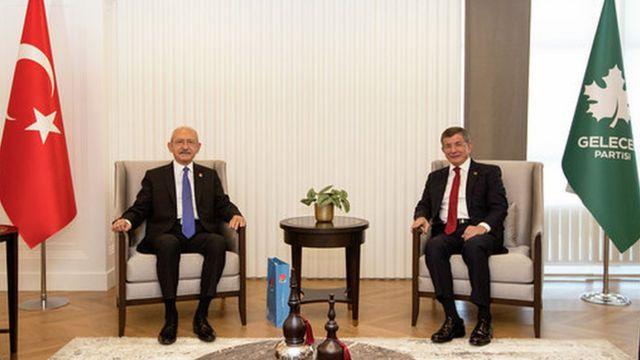 Kılıçdaroğlu ve Davutoğlu, 15 Eylül Salı günü yaklaşık 2 saat süren bir görüşme gerçekleştirdi