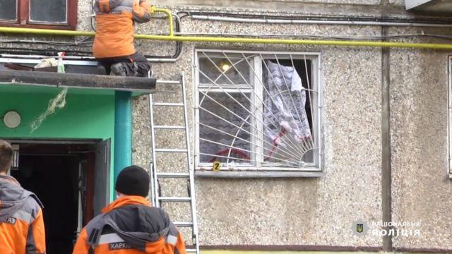 У Харкові чоловік підірвав гранати в квартирі своєї колишньої