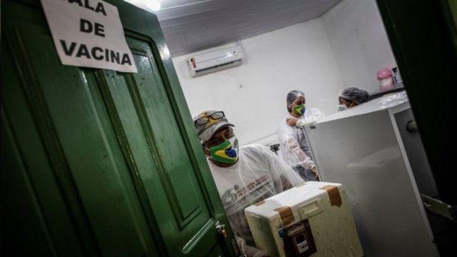 Vacinação no Amazonas