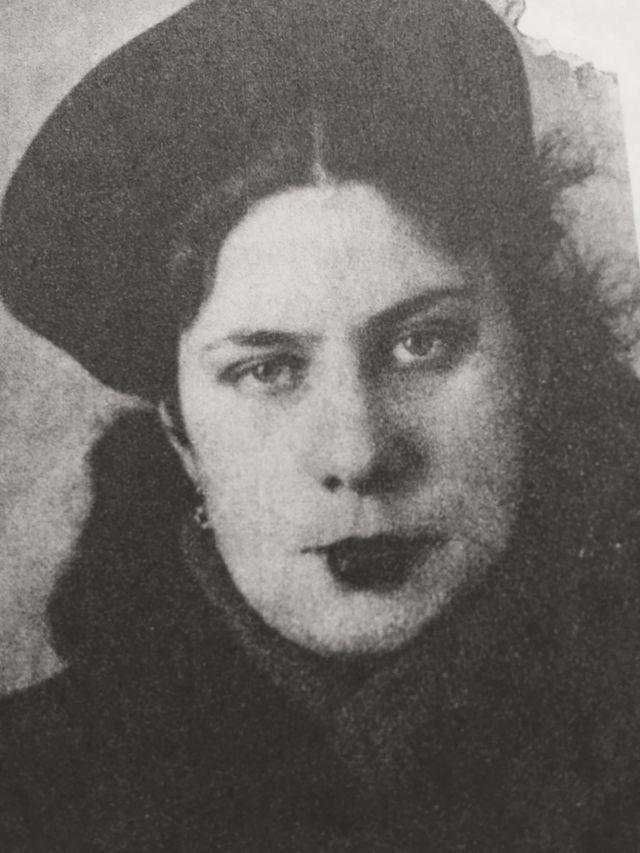 Архангелогородка Елена Иванова в 1940-е годы