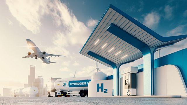 Diferentes transportes que poderiam funcionar com hidrogênio verde