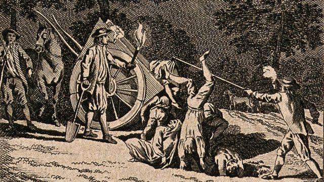 1665'te vebanın kurbanlarını gömen Samuel Wale