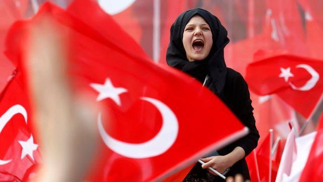 AKP Konya mitingi