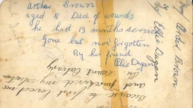 World War Two: Mystery of photo of soldier Arthur Brown found in bookshop