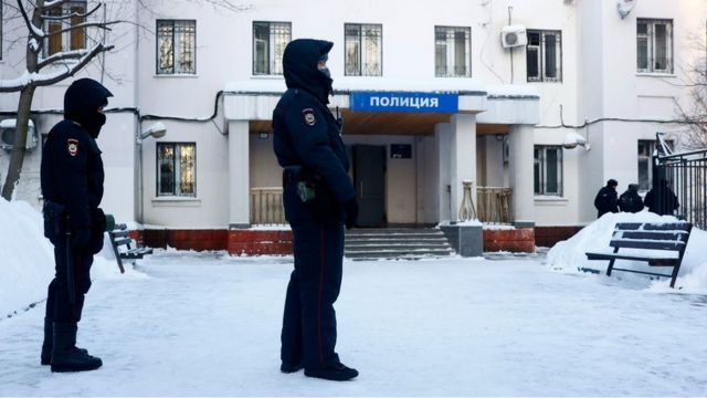 Суд над Навальным проходил в Химкинском отделе полиции