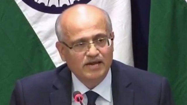 #Balakot: जैश के सबसे बड़े कैंप को बनाया गया निशाना: विदेश सचिव विजय गोखले