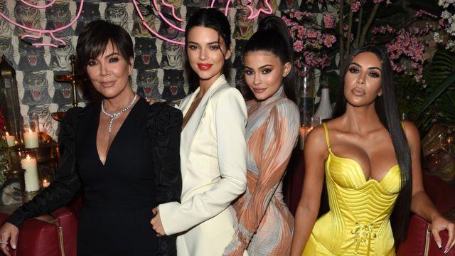 Kris Jenner, Kendall Jenner, Kylie Jenner, Kim Kardashian-West
