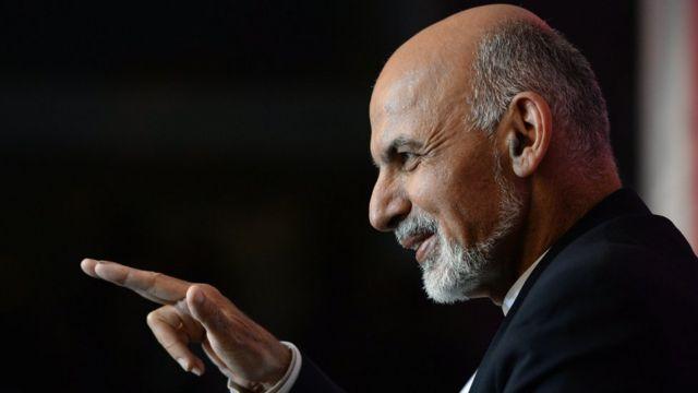 Image shows Ashraf Ghani