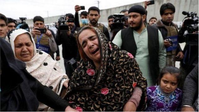 هغه افغان سکان چې خپلوان یې له لاسه ورکړي