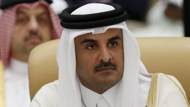 卡塔尔元首阿米尔谢赫塔米姆·本·哈马德