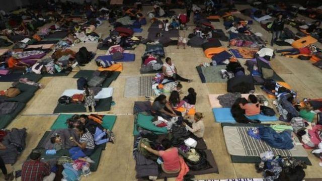 Abrigo para migrantes