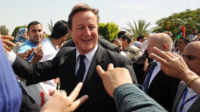 Cameron en Libia