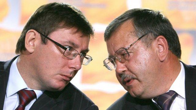 Гриценко і Луценко