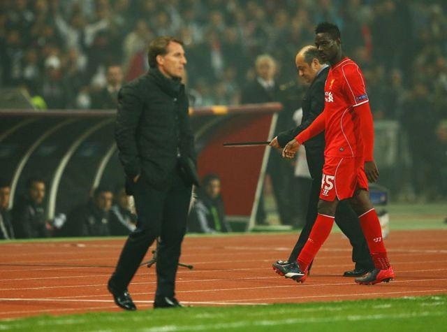 Brendan Rodgers ve Balotelli