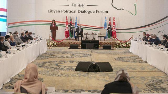Tunus'taki Libya görüşmeleri