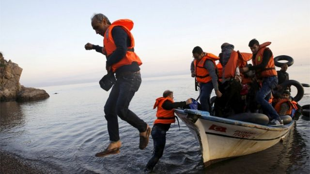 Migrant crisis: Middle classes on the move