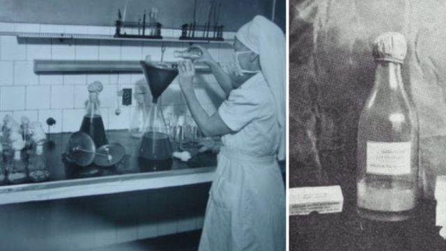Laboratório da Fundação Ataulpho de Paiva, onde a vacina BCG era produzida