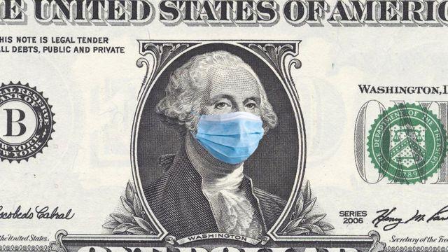 Dólar con mascarlla