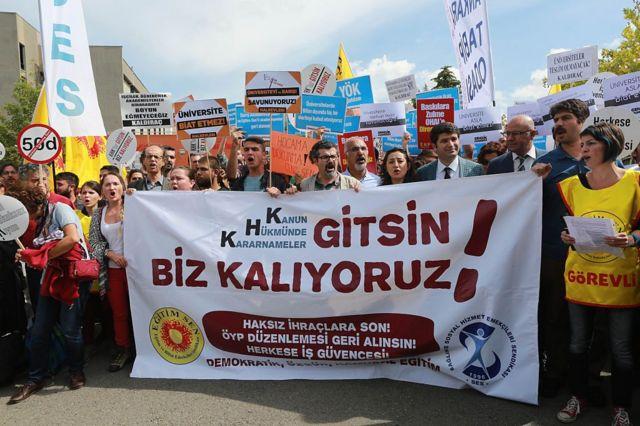 KHK Protestoları, 22 Eylül 2016, Ankara