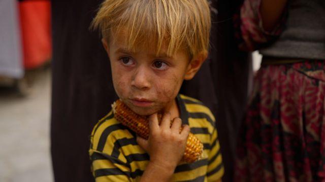 Kabil'de bir çocuk