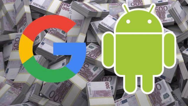 Logos de Android y Google