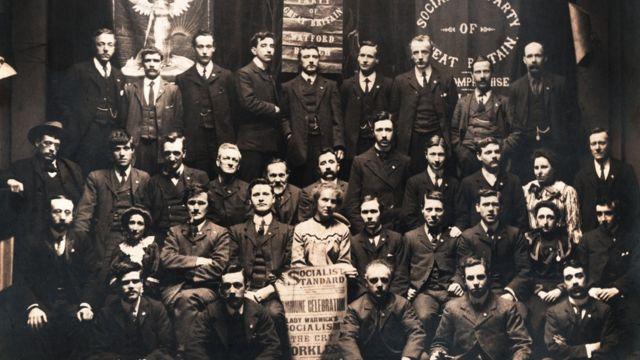 Делегаты первого съезда Социалистической партии Соединенного Королевства