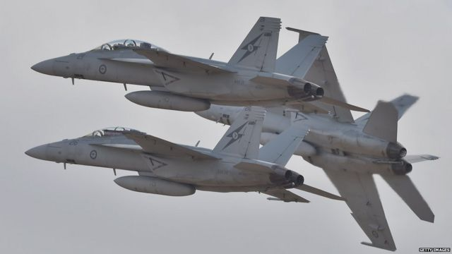 US asks Australia to expand air cover into Syria