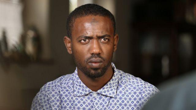 معاز أيامو إثيوبي من بين الناجين من الحادث